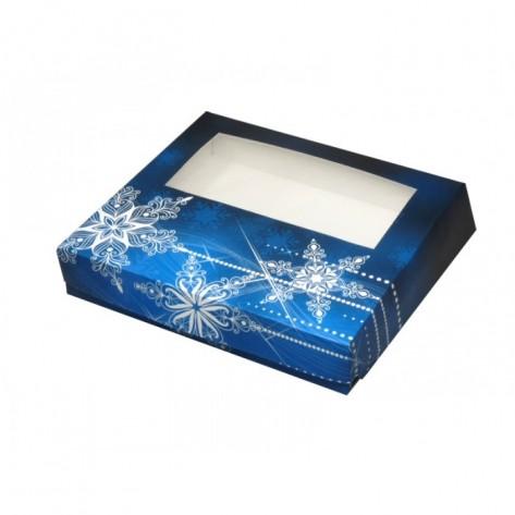 Embalaža božična za praline, 1kg, 25x22x5cm, 5 kos