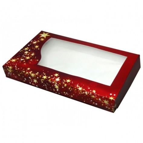 Embalaža božična za praline, 1,5kg, 36x22x5cm, 5 kos